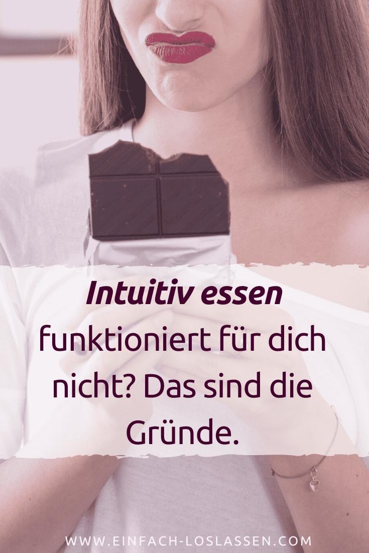 Intuitiv essen funktioniert für dich nicht? Das sind die Gründe.